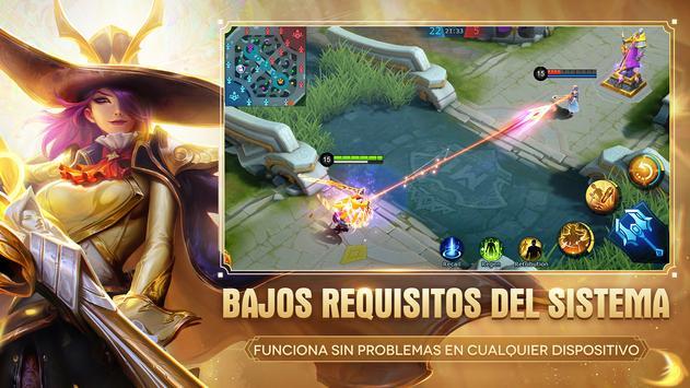 Mobile Legends: Bang Bang captura de pantalla 2