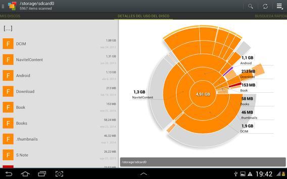 Duros, tarjetas SD, depósitos captura de pantalla 2