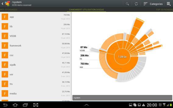 Lecteurs, Stockage, carte SD capture d'écran 5