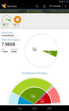 Анализатор дисков, облачных хранилищ, SD карт, USB скриншот 12