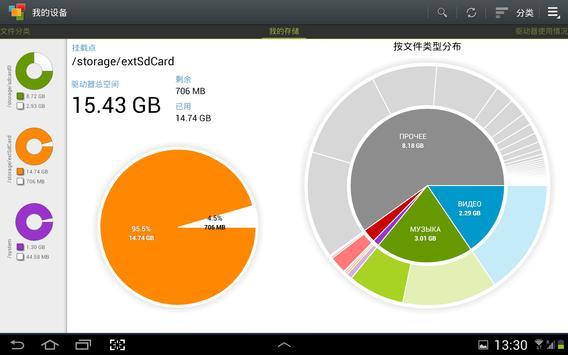 Storage Analyzer & Disk Usage 截圖 1