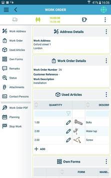The Smart Work Order app 스크린샷 19