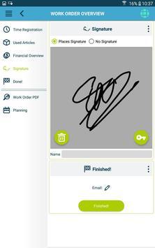 The Smart Work Order app 스크린샷 23