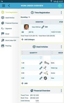 The Smart Work Order app 스크린샷 22