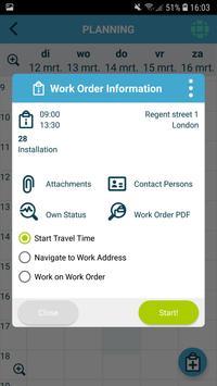 The Smart Work Order app 스크린샷 2