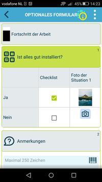 Die kluge Arbeitsauftrags-App Screenshot 5