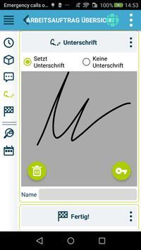 Die kluge Arbeitsauftrags-App Screenshot 6