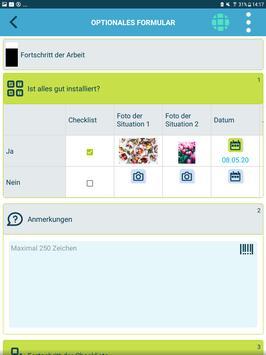 Die kluge Arbeitsauftrags-App Screenshot 8