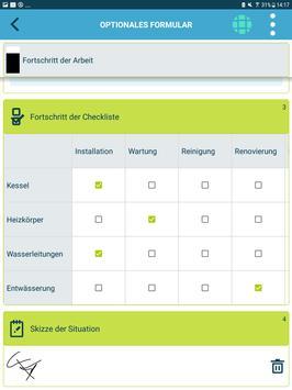 Die kluge Arbeitsauftrags-App Screenshot 9