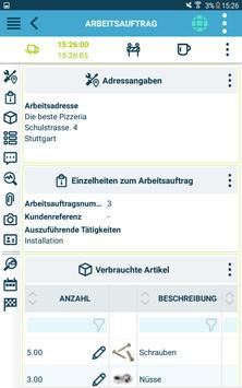 Die kluge Arbeitsauftrags-App Screenshot 13