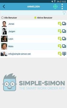 Die kluge Arbeitsauftrags-App Screenshot 10