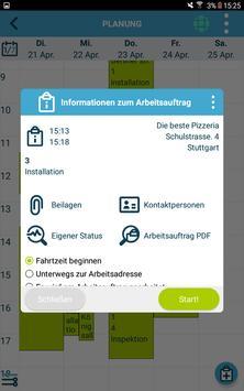 Die kluge Arbeitsauftrags-App Screenshot 12