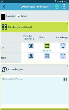 Die kluge Arbeitsauftrags-App Screenshot 15