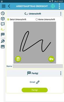 Die kluge Arbeitsauftrags-App Screenshot 16