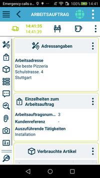 Die kluge Arbeitsauftrags-App Screenshot 3