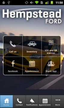 Hempstead Ford poster