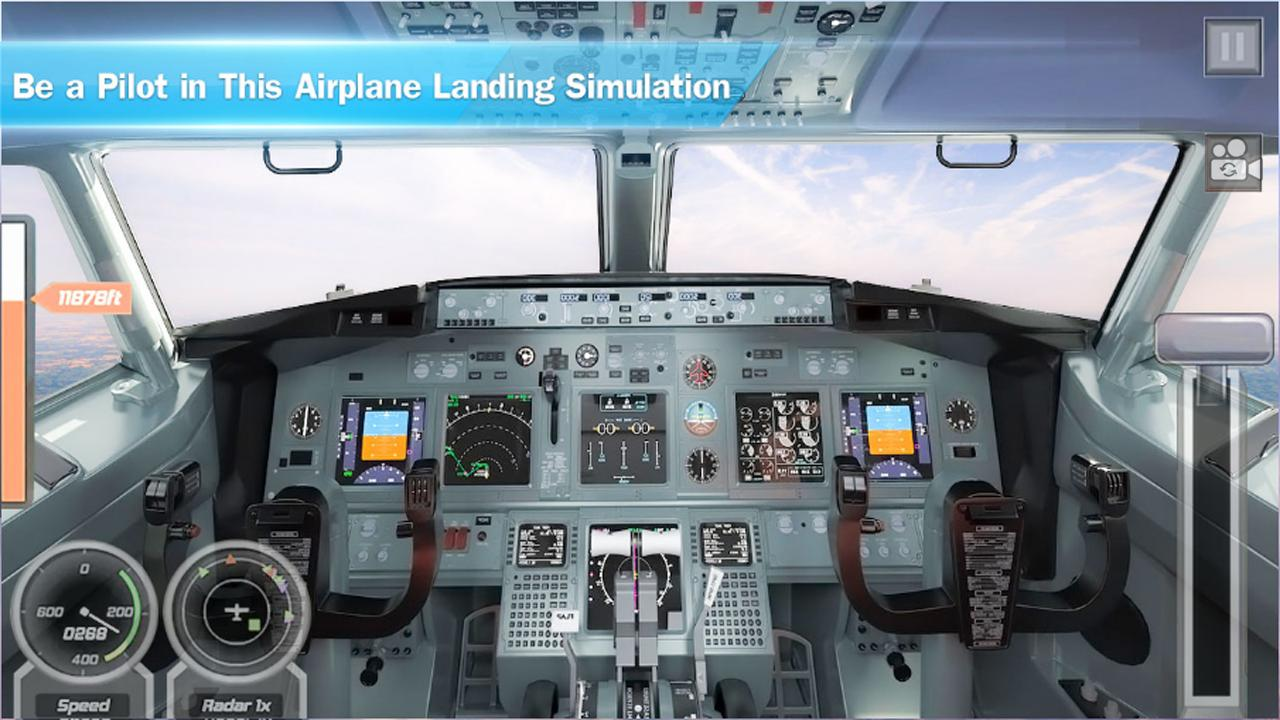 Real Airplane Flying Simulator 2019: Aircraft Game for