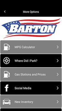 Barton Advantage Rewards screenshot 1