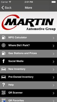 Martin Automotive Group screenshot 1