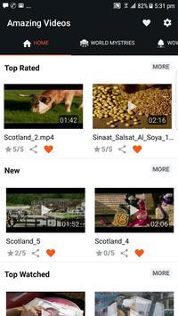 Amazing Videos screenshot 1