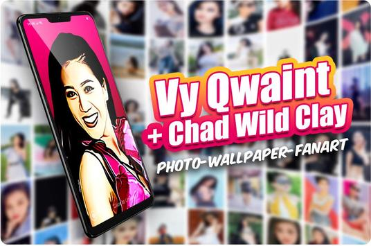 Chad Wallpaper + \/y Wallpaper poster