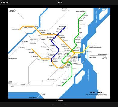 Subway Maps Canada screenshot 9