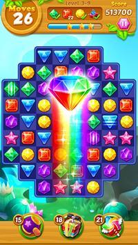 Jewels Track - Match 3 Puzzle screenshot 1