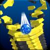 Stack Blast Ball 3D : Blast through platforms icono