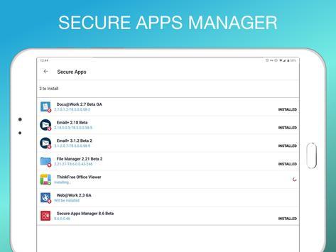 Mobile@Work screenshot 14