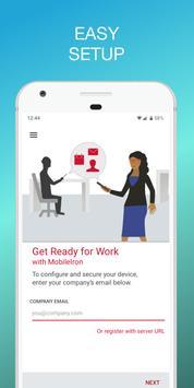 Mobile@Work screenshot 2