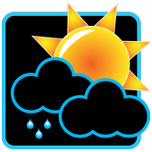 Weather Rise Clock 아이콘