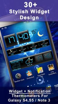 Weather Rise Clock 포스터
