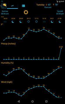 Weather Rise Clock 스크린샷 13