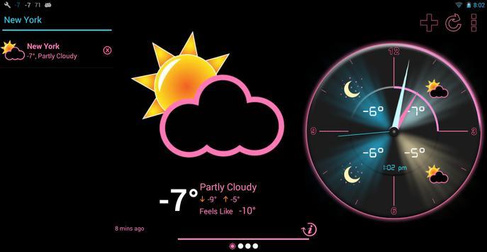 Weather Rise Clock 스크린샷 8