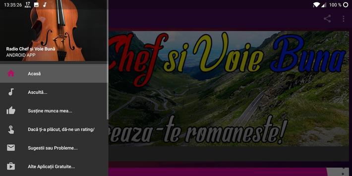 Radio Chef şi Voie Bună - Petrecaretzu screenshot 3