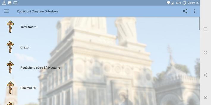 Rugăciuni Creştine Ortodoxe screenshot 7