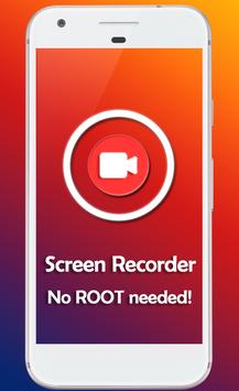 Screen Recorder. No ROOT. Poster