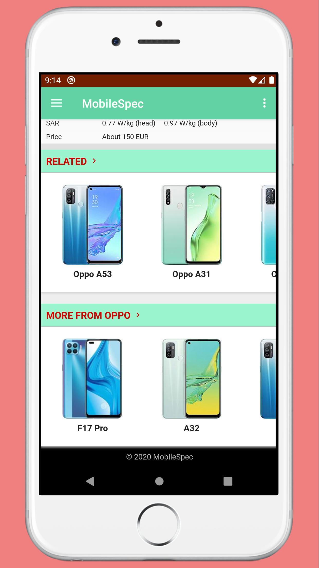 MobileSpec - Mobile Phone Full Specification  screenshot 9