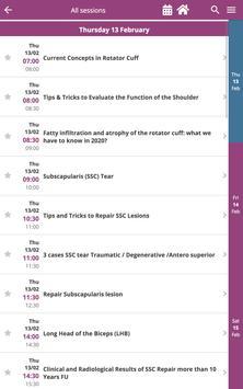 Paris Shoulder Symposium 2020 screenshot 5