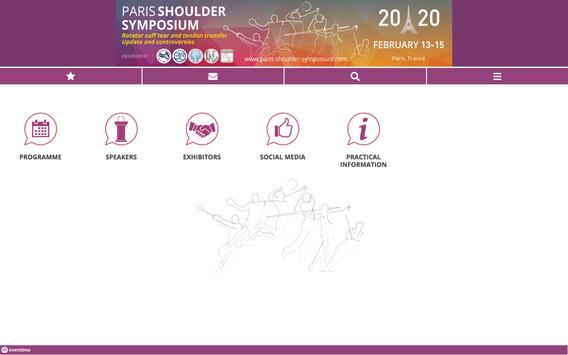 Paris Shoulder Symposium 2020 screenshot 2