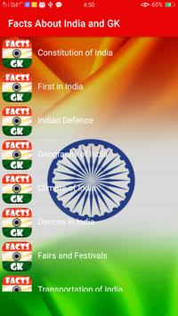 Facts About India & Gk poster