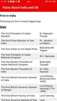 Facts About India & Gk screenshot 5