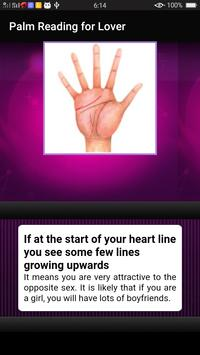 Palm Reading for Lover screenshot 6