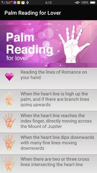Palm Reading for Lover poster