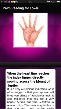 Palm Reading for Lover screenshot 3