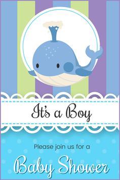 Baby Shower Card Maker screenshot 3