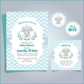 Baby Shower Card Maker poster