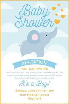 Baby Shower Card Maker screenshot 5