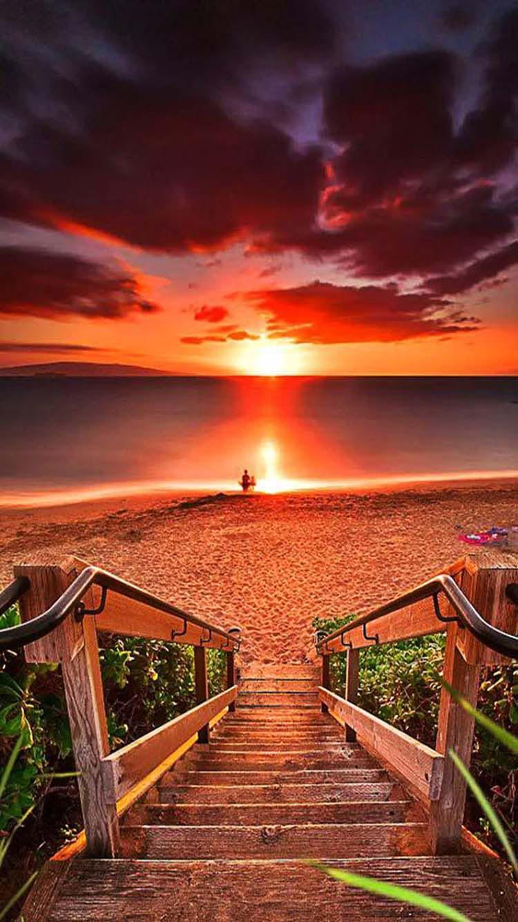 Sunset Wallpaper 4k Ultra Hd For Android Apk Download