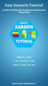 Easy Xamarin Tutorial poster